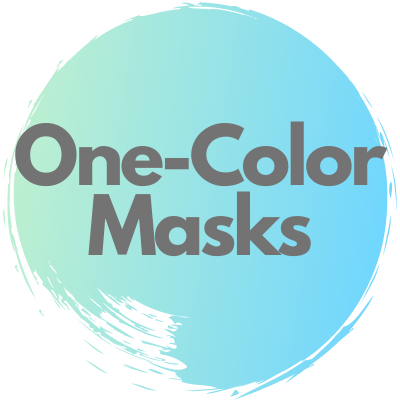 One-Color Masks